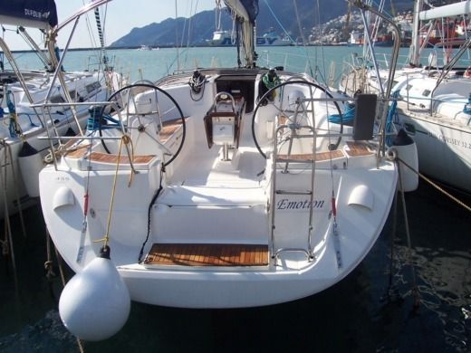 Dufour 45 in Salerne for hire