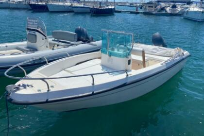 Hire Motorboat Open 550 Alghero