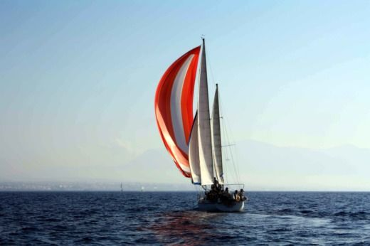 Charter sailboat in Heraklion