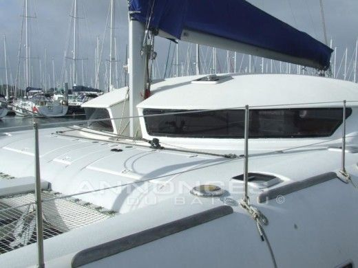 Charter catamaran in Lorient peer-to-peer