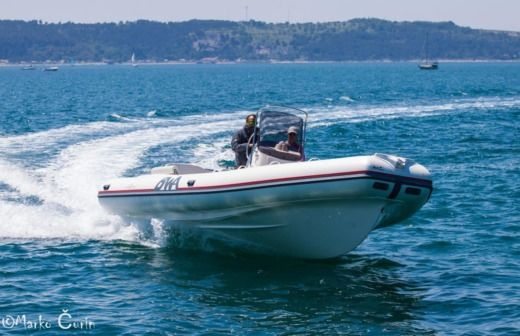 RIB Bwa Sport 26 Gt + Honda for rental