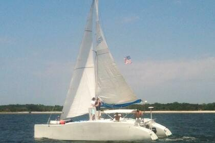 Rental Catamaran Kurt Hughes 30' Tube Cat Fernandina Beach