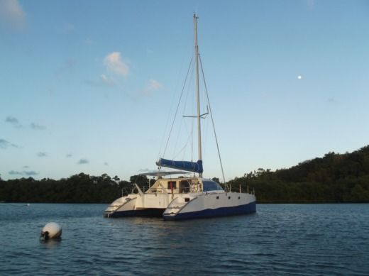 Catamaran Muticap Caraibes Punch 12.50 for hire