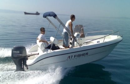 Rental Motorboat Primus Marine Fisher 17 Rab