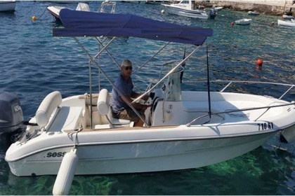 Rental Motorboat SESSA MARINE 19 Hvar