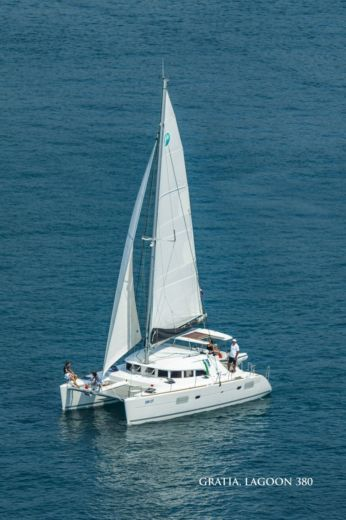 Charter catamaran in Dubrovnik