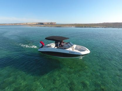 Rental Motorboat Bayliner Vr5 Ibiza