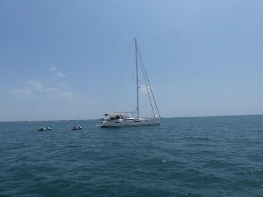 Sailboat JEANNEAU 57 for hire
