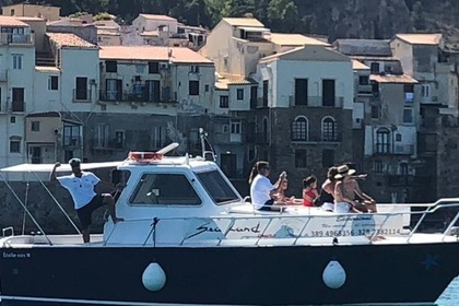 Charter Motorboat tourboat 10m Cefalù