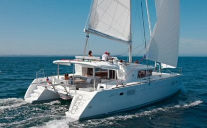 Charter Catamaran Lagoon 450 F With Watermaker & A/c - Plus Tortola