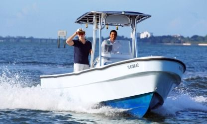 Rental Motorboat Panga Angler Miami