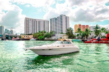 Miete Motorboot Sea Ray Sundancer 340 Miami Beach