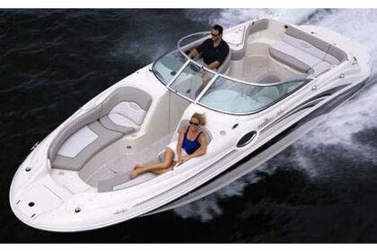 Rental Motorboat SEA RAY SUNDECK Krk
