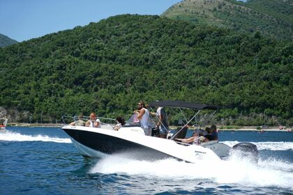 Hire Motorboat Quicksilver Activ 675 Open Kotor