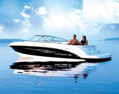 Rental Motorboat Chaparral 236 Empuriabrava