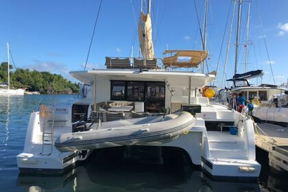 Hire Catamaran Fountaine Pajot Saona 47 with watermaker & A/C - PLUS Saint Thomas