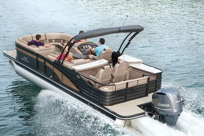 Rental Motorboat Pontoon 26 Sunny Isles Beach