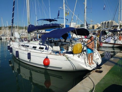 Barca a vela DUFOUR 455 Grand Large tra privati