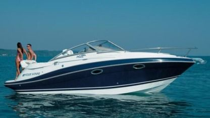 Charter Motorboat Four Winns 258 Vista Zadar