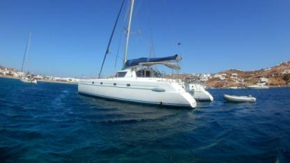 Location Catamaran Fountaine Pajot Belize 43 Mykonos