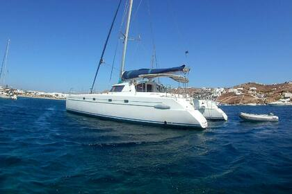 Rental Catamaran FOUNTAINE PAJOT BELIZE 43 Mykonos