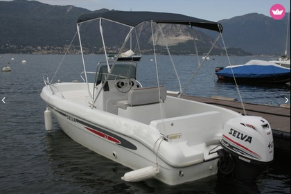 Rental Motorboat Selva 530 open Verbania