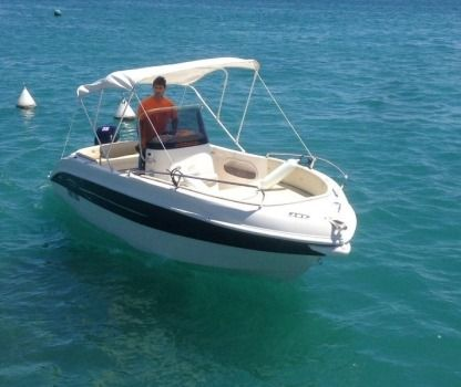 Charter Motorboat As Marine 570 Open Moniga del Garda