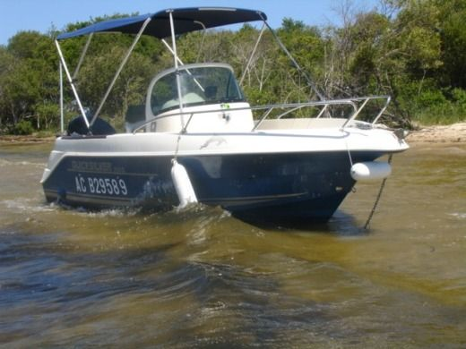 Motorboat Quicksilver Commander 550 for hire