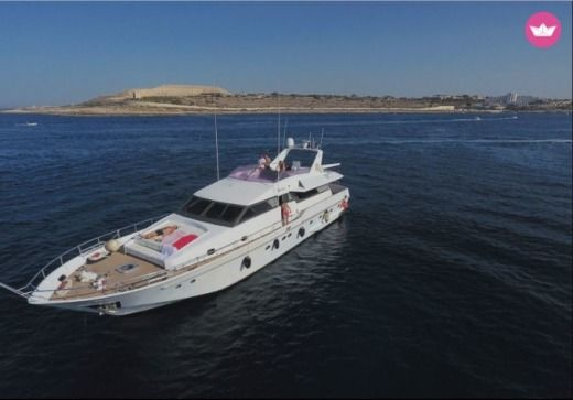 Motorboat TECNOMARINE Motor Yacht 2130ch for hire