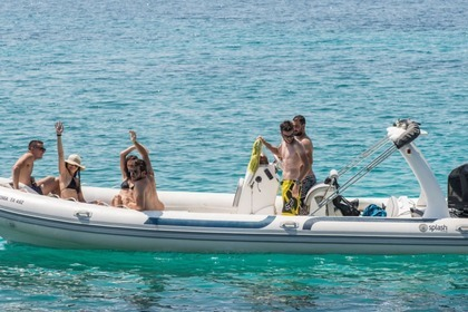 Hire RIB Splash Rib 7.4 Lefkada