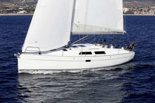 Sailboat HANSE 400 for hire