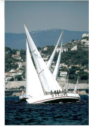 Sailboat JEANNEAU Sun Fast 39 for hire