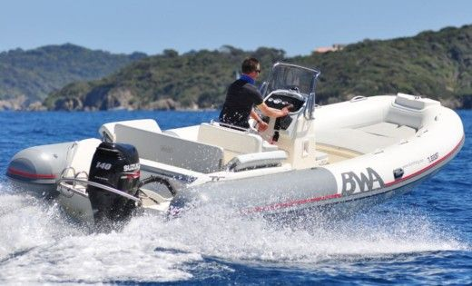 Charter rIB in Saint-Florent