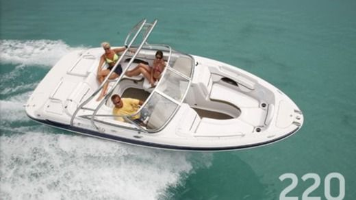 Motorboot Four Winns 220 Horizon zu vermieten