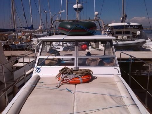 Charter Motorboat Guy Couach Vedette Martigues