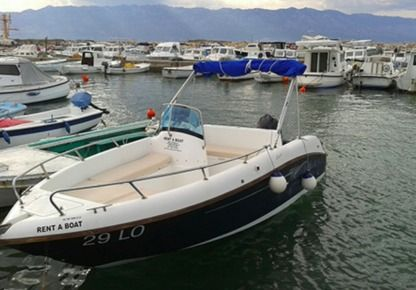 Rental Motorboat Cobra 499 Blue Lopar