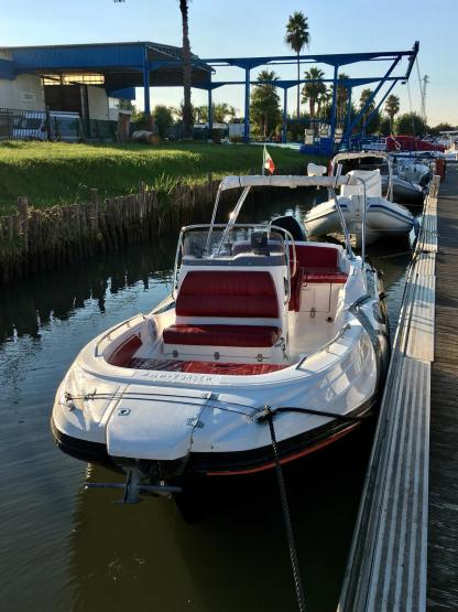 Rental RIB Zar 61 Angera