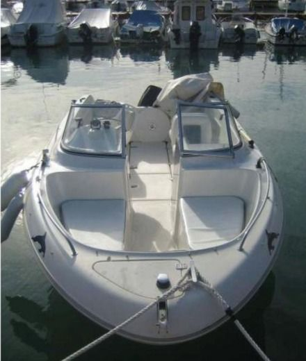 Motorboat Quicksilver 580 for hire