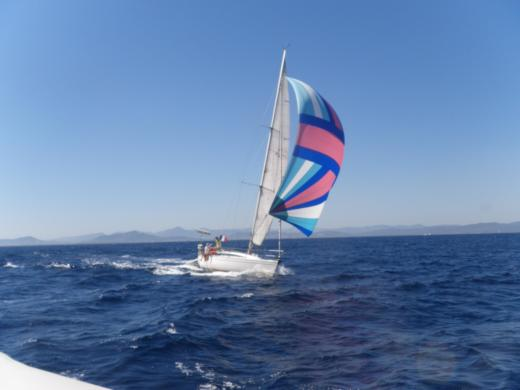 Sailboat Jeanneau Sun-Fast 39 peer-to-peer
