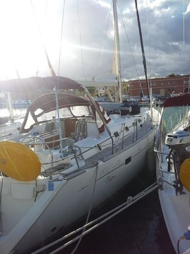 Beneteau Oceanis 473 Clipper in Majorca for hire