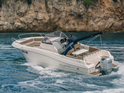 Charter Motorboat Atlantic Marine Open 750 Trogir