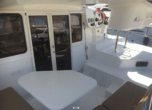 Location Catamaran Fountaine Pajot Mahe 36 Evolution Ajaccio