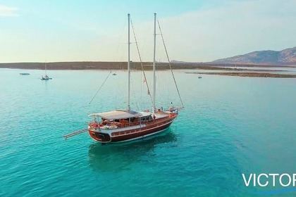 Rental Sailboat turkey made gulet gulet motorsailer Cannigione