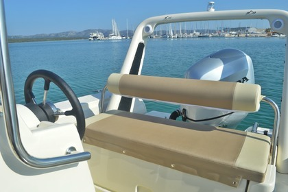 Rental RIB Barracuda 530 Betina