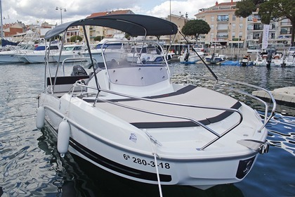 Rental Motorboat BENETEAU Flyer 5.5 Sundeck Cambrils