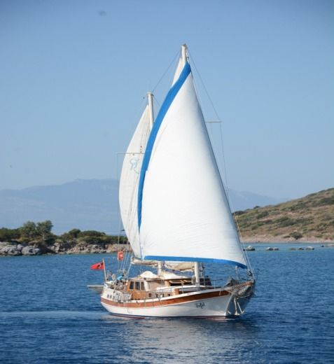 Traditional Gulet Ketch Tifil in Bodrum for rental