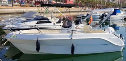 Charter Motorboat Marinello Gray 16 Alicante