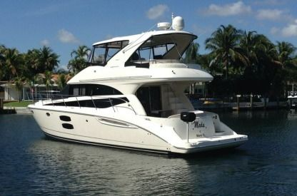 Rental Motorboat Meridian Sedan Bridge North Miami