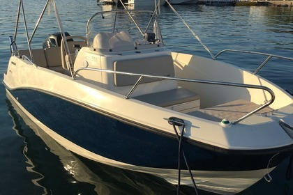 Rental Motorboat QUICKSILVER Activ 555 Open Makarska