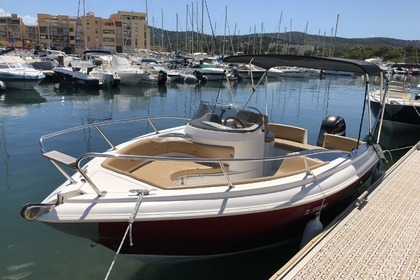 Rental Motorboat AS MARINE AS590 Open Bormes-les-Mimosas